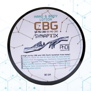 Synaptix CBG Hand and Body Cream